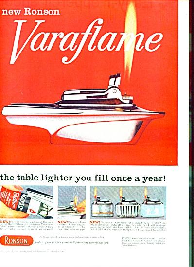 1959 - Ronson Varaflame ad (Image1)