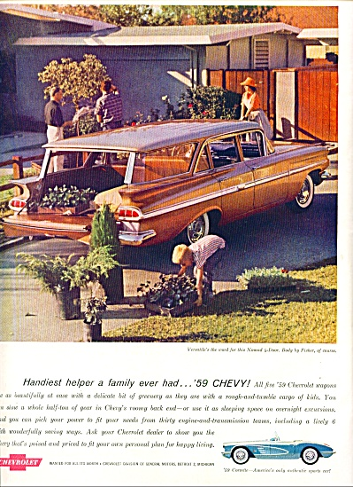 1959 - Chevrolet Wagons (Image1)