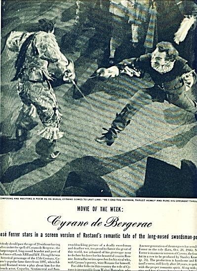 1950 - Movie: CYRANO DE BERGERAC  - (Image1)