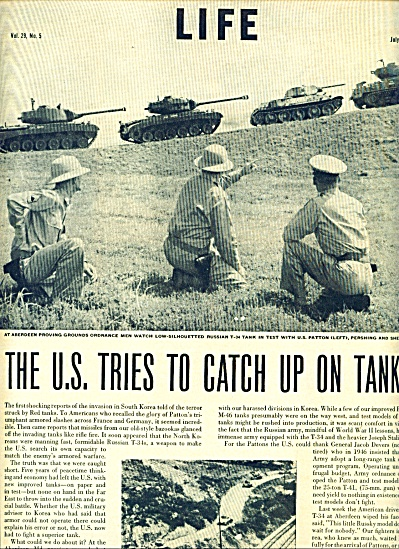 1950 -  U.S. tries to catch up on tanks story (Image1)