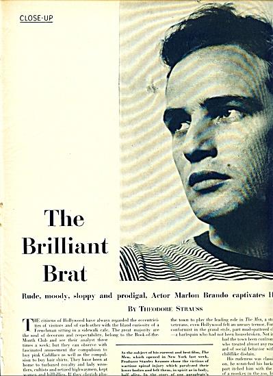 1950 -MARLON BRANDO story (Image1)