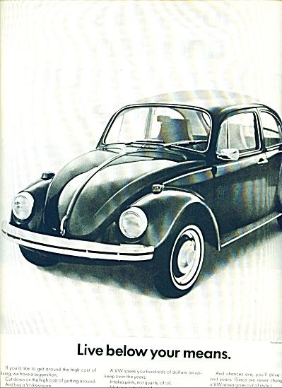 1970 - Volkswagen auto ad (Image1)