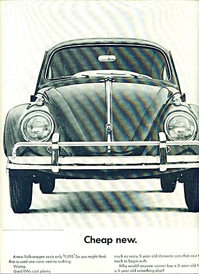 1962 -  Volkswagen ad (Image1)