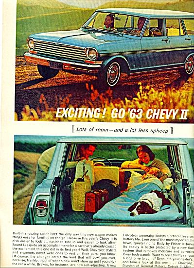 1962 - Chevrolet auto ad for 1963 (Image1)