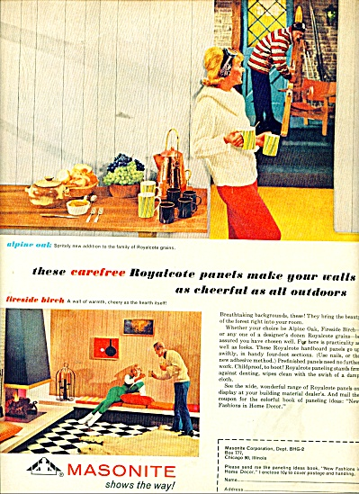 Masonite Corporation ad 1965 (Image1)