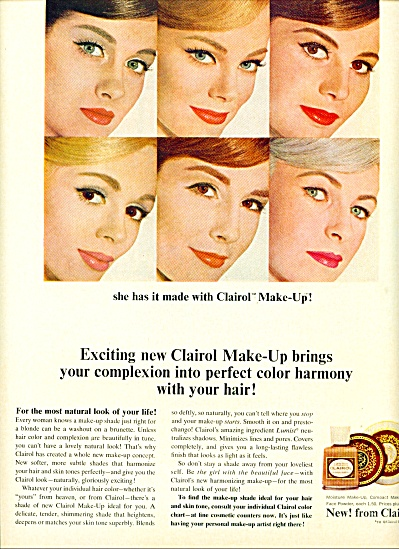 1964 -  Clairol make up ad (Image1)