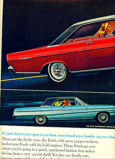 1964 - Ford Autos For 1965