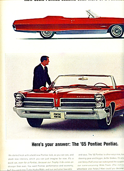 1964 -  Pontiac automobiles for 1965 (Image1)