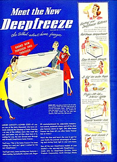 1947 - Deepfreeze  ad (Image1)