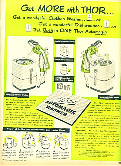 1947 -  Thor automagic washer ad (Image1)
