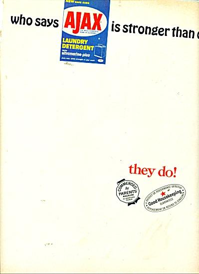 Ajax laundry detergent ad 1965 (Image1)