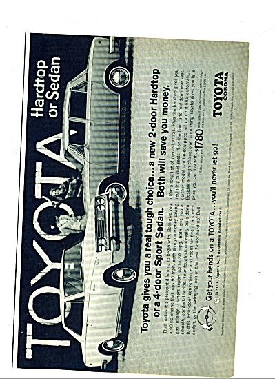 1967 -  Toyota Corona auto ad (Image1)