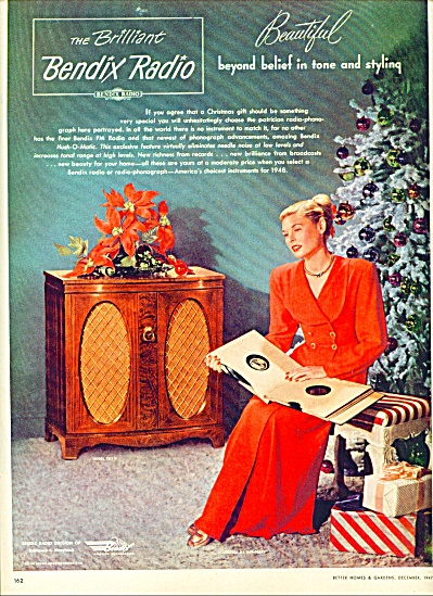 1947 -  Bendix Radio ad (Image1)