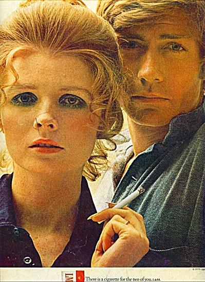1970 -  L & M cigarettes ad (Image1)