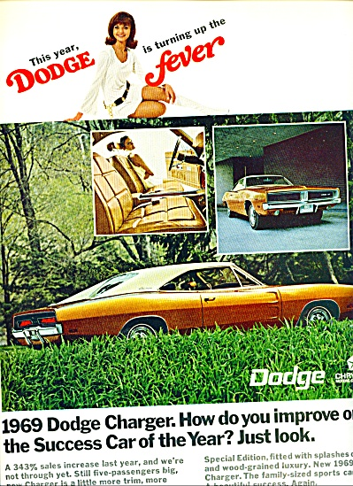 1968 -  Dodge Charger for 1969 (Image1)