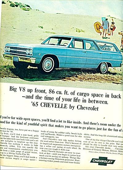 1965 Chevrolet Chevelle  Wagon AD (Image1)