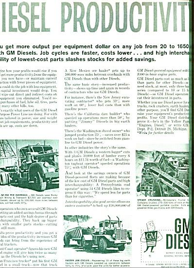 1960 -  GM Diesel ads (Image1)