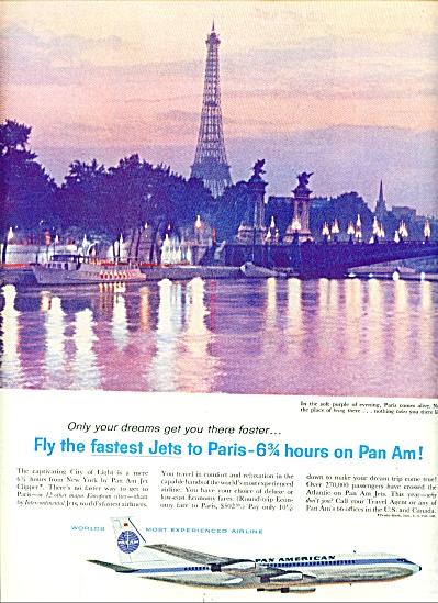 1960 -  Pan American air line ad (Image1)