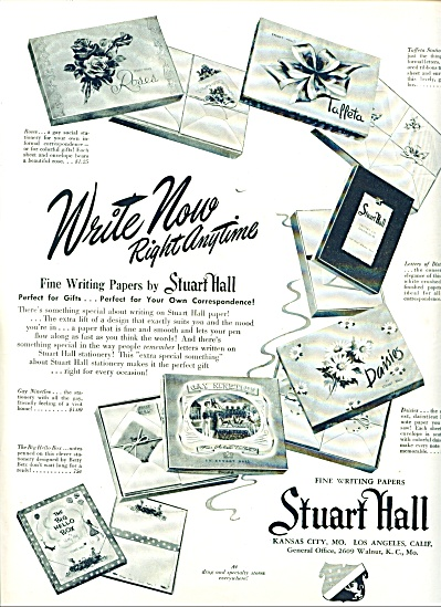 Stuart Hall writing papers ad (Image1)