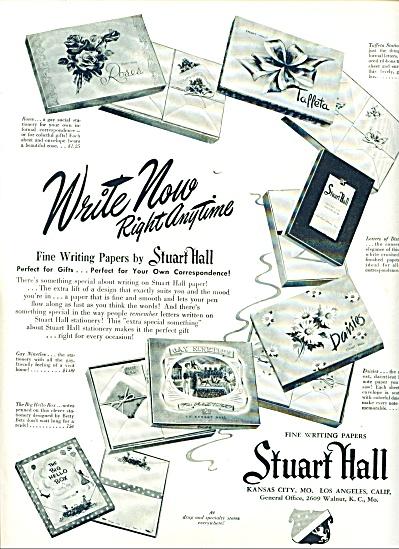 Stuart Hall writing papers ad (Image1)