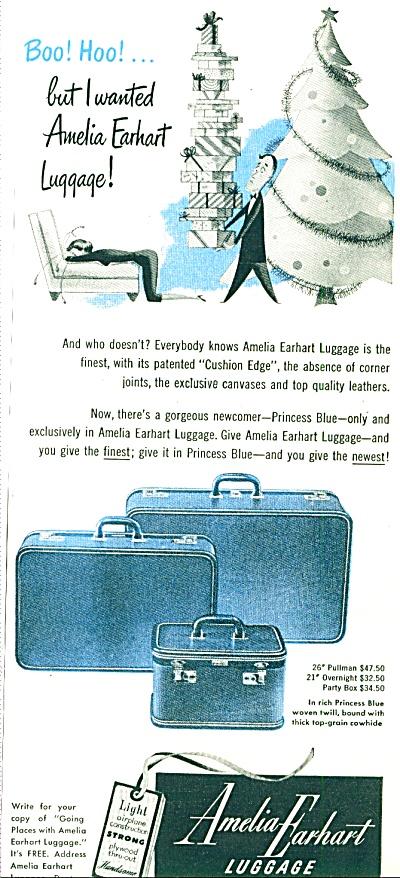 Amelia Earhart luggage ad (Image1)