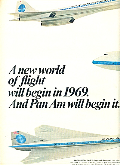 1967 -  Pan American airlines ads (Image1)