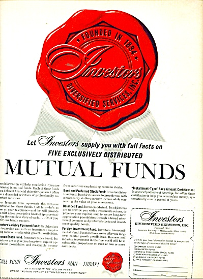 Investors Diversified services Inc. ad 1965 (Image1)