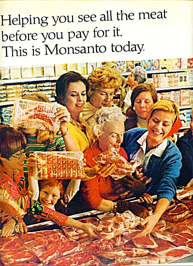 1967 - Monsanto wrapping ad (Image1)