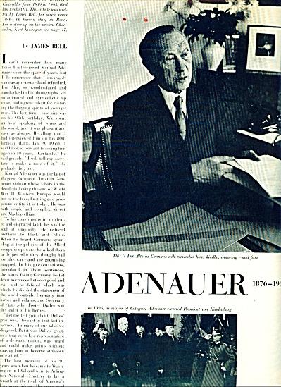 1967 -  KONRAD ADENAUER (Image1)