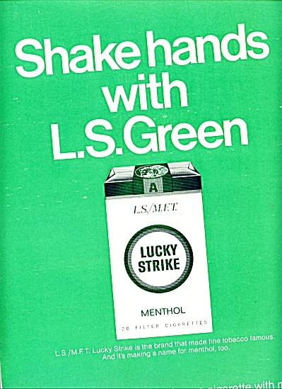 1966 -  Lucky Strike menthol cigarettes (Image1)