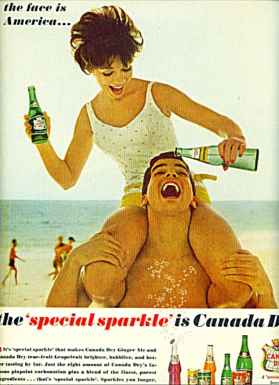 1962 - Canada Dry Beverage Ad