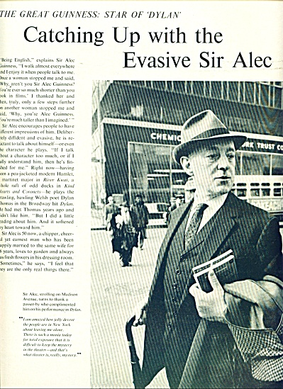 1964 -  SIR ALEC GUINESS (Image1)
