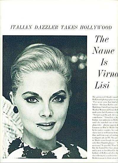 1964 -  VERNA  LISI , Italian dazzler (Image1)