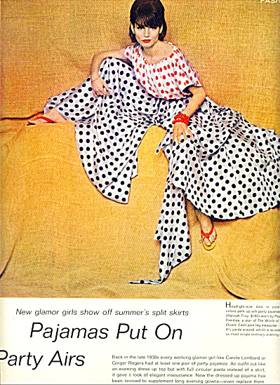 1964 -  Pajamas put on party airs (Image1)