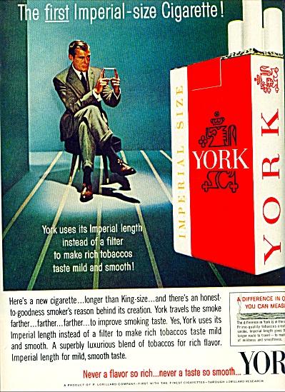 1962 -  York cigarettes ad (Image1)