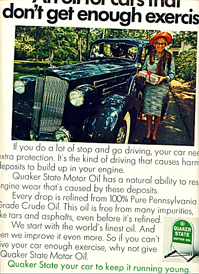 1969 - Quaker state motor oil ad (Image1)