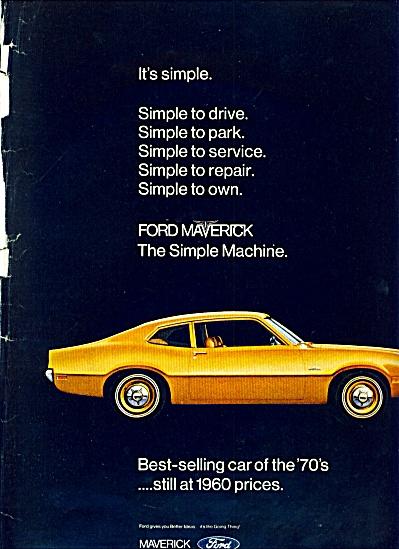 1969 -  Ford Maverick auto ad (Image1)