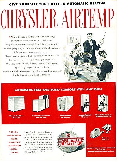 1948 -  Chrysler Airtemp ad (Image1)