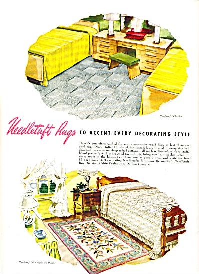 1948 -  Needletuft rugs ad (Image1)