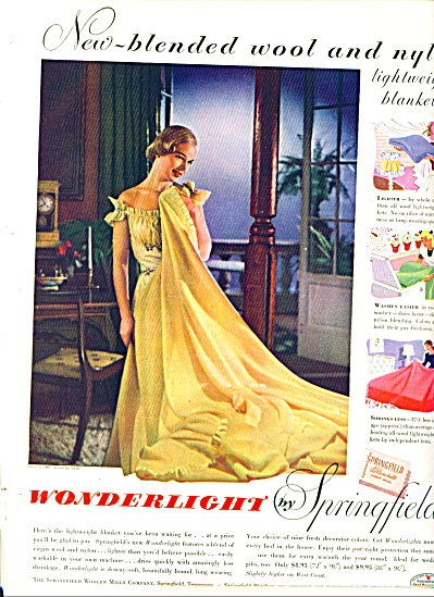 1948 -  Wonderlight by Springfield ad (Image1)
