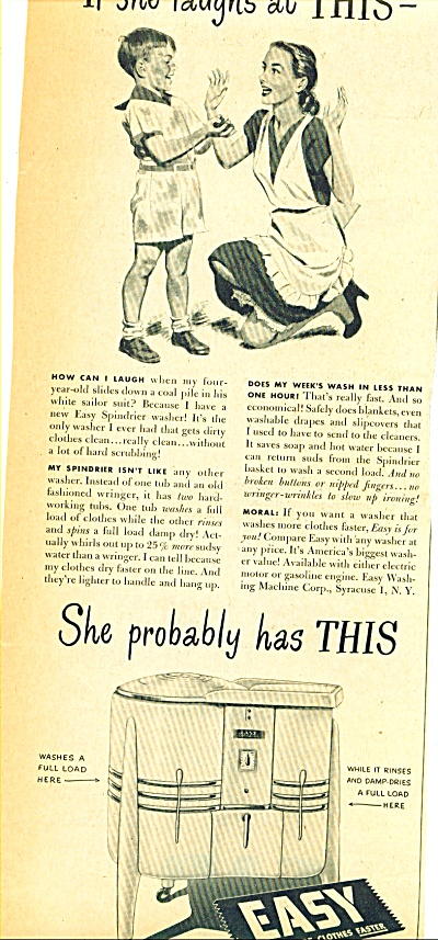 1947 -  Easy washing machine ad (Image1)