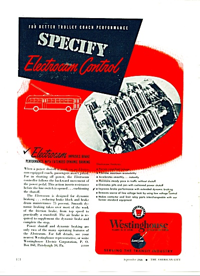 Westinghouse serving the transit industry ad (Image1)