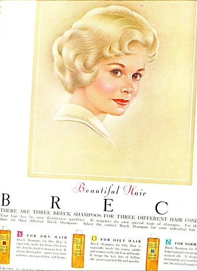 1962 -   Breck shampoo ad (Image1)