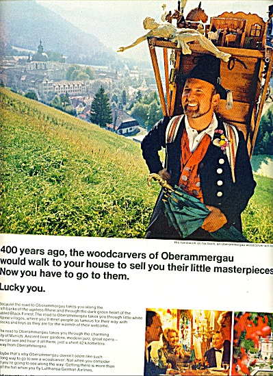 1968 -  Lufthansa airlines ad (Image1)