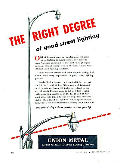 Union Metal Co.  ad 1946 (Image1)