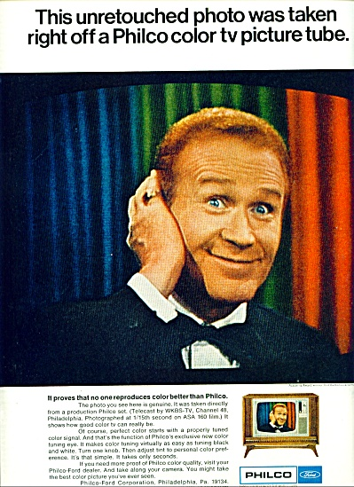 1967 -  Philco Television - RED BUTTONS (Image1)