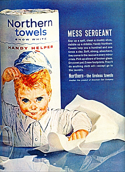 1962 -  Northern towels ad (Image1)