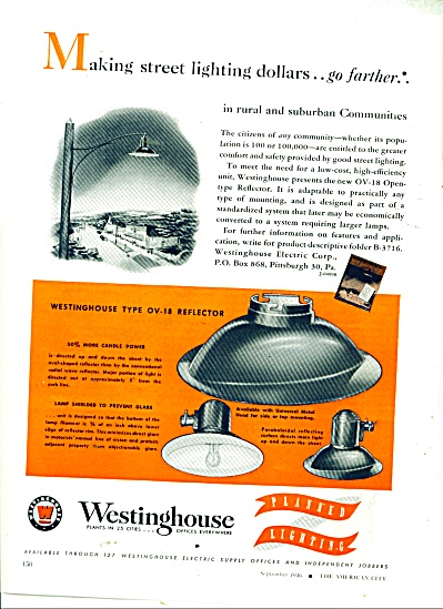 Westinghouse planned lighting ad 1946 (Image1)