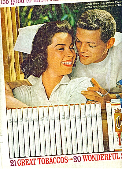 1960 -  Chesterfield king cigarettes ad (Image1)