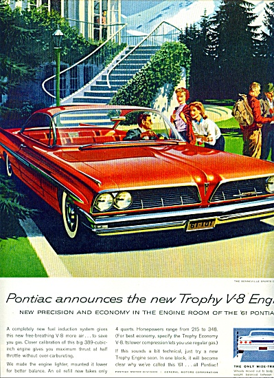 1960 - Pontiac Bonneville Sports Coupe Ad